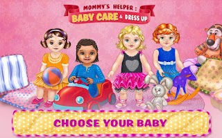 Screenshot of Baby Care & Dress Up Kids Game