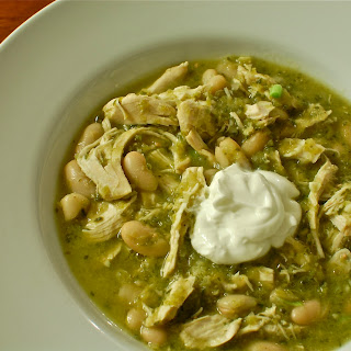 White Bean Chicken Chili With Salsa Recipes.