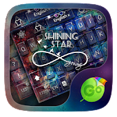 Shining Star GO Keyboard Theme