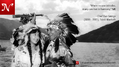 Photo: Where no one intrudes, many can live in harmony. —Chief Dan George (1899 - 1981), Tsleil-Waututh