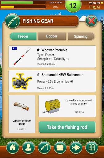 Code Triche Fishing Baron - realistic fishing game apk mod screenshots 4
