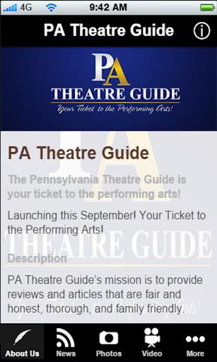 PA Theatre Guide
