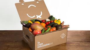 Variedades de productos en La Caja Saludable.
