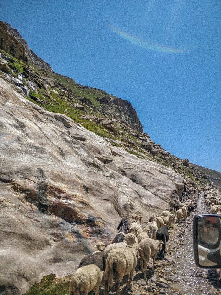 Spiti+valley+road+himachal+india