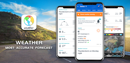 Get live weather, accurate weather alerts & radar forecast for any time. ⛅️