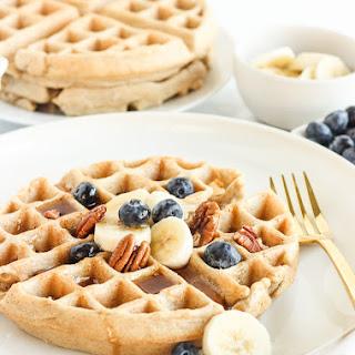 Gluten-Free Oatmeal Waffles.