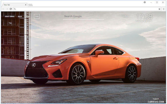 Lexus Wallpapers HD New Tab Themes