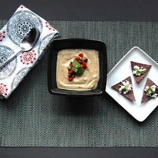 Roasted Cauliflower - Poblano Soup.