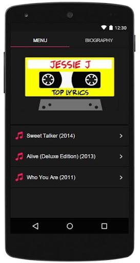Jessie J Lyrics Top