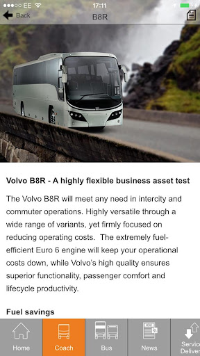 Volvo Bus & Coach  screenshots 4