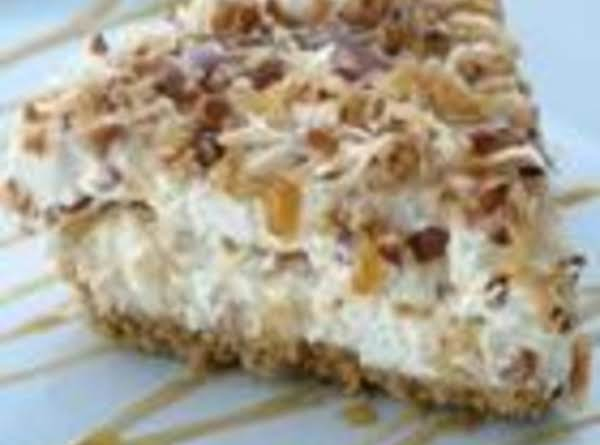 Freezer Caramel Drizzle Pie Recipe