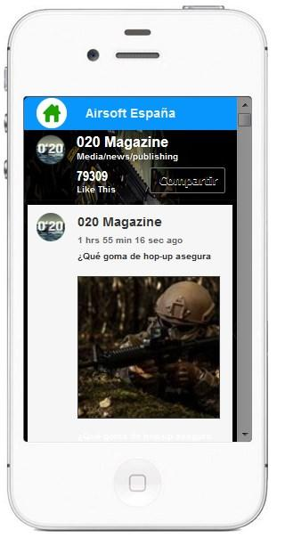 Airsoft Magazine España- screenshot