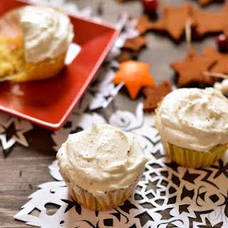 Eggnog Cupcakes - Gluten Free, Dairy Free, Sugar Free.