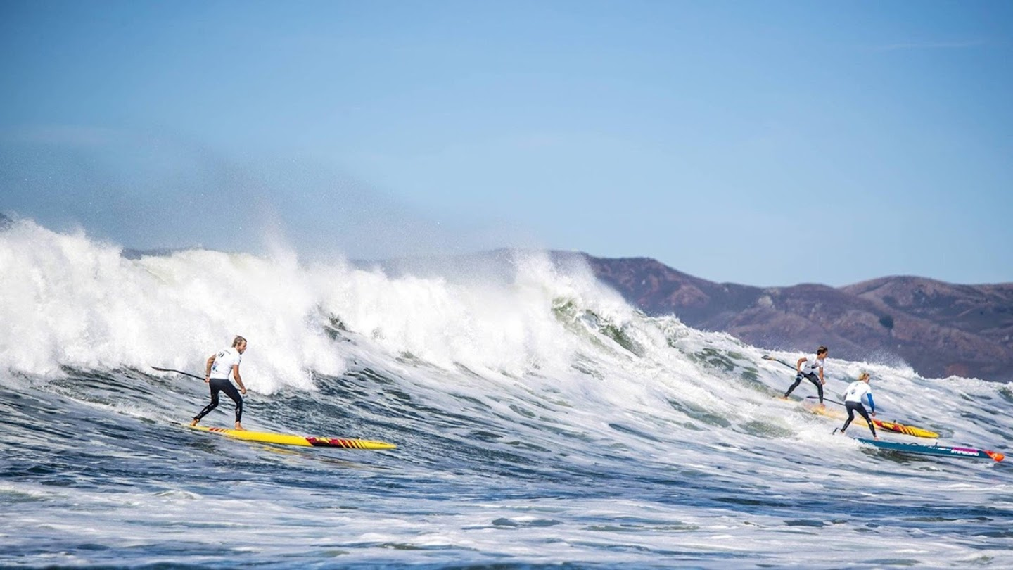 Watch Breaking New Ground Paddle Surf Racing live