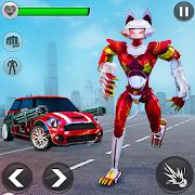 Cat Robot Car Transformation: Real Robot War