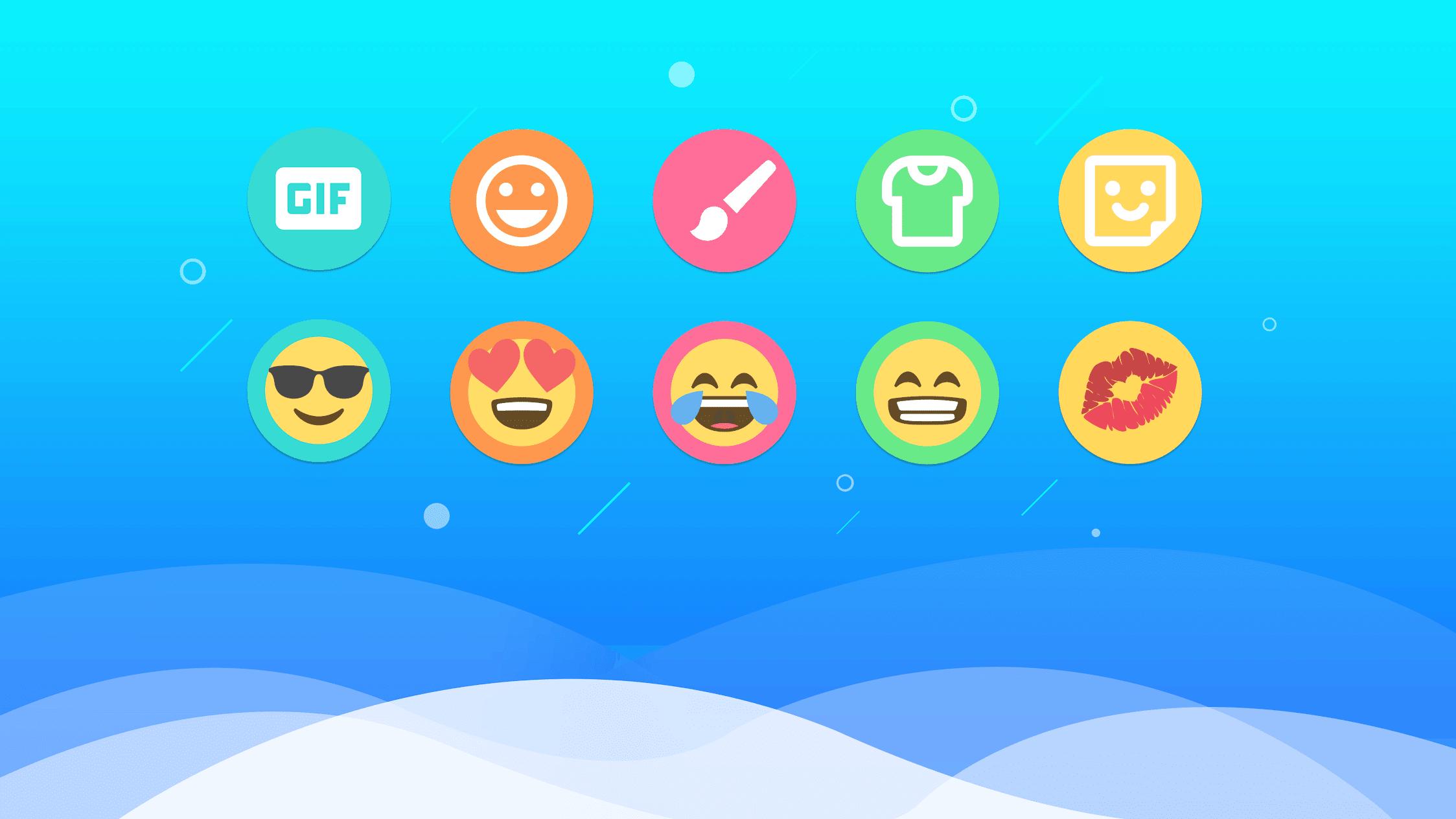 Facemoji Emoji Keyboard & Keyboard Theme