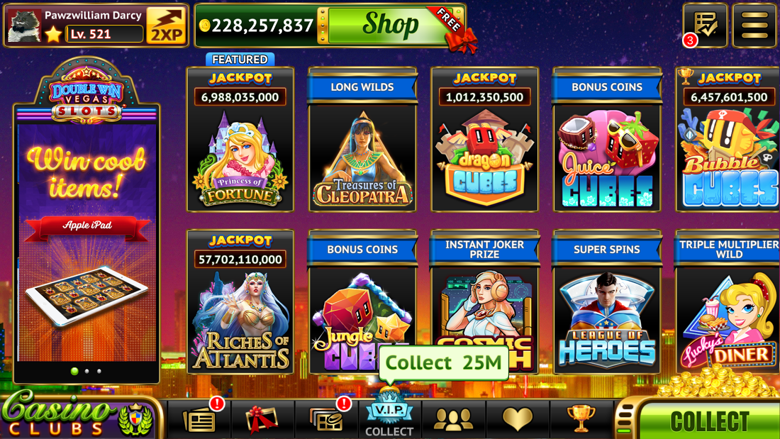 double slot casino