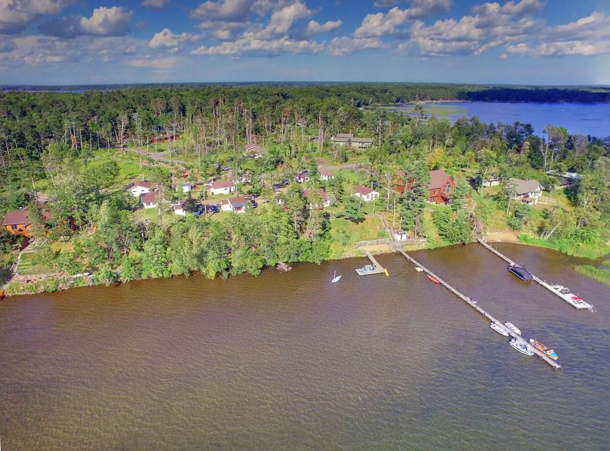 Sebago Resort drone 1