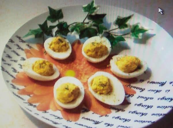 Deviled Eggs.. Devilry  Delicious Balls