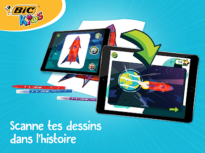 BIC Kids DrawyBook, coloriages – Vignette de la capture d'écran