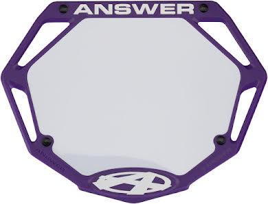 Answer BMX 3D Pro Number Plate alternate image 2