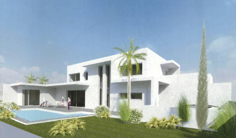 Maison contemporaine avec piscine et jardin Montferrier-sur-Lez