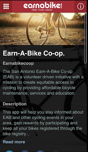 Earn a Bike Co-op.
