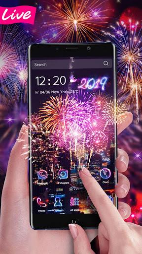 Lucky 3D New Year Firework Theme 1.1.4 screenshots 5