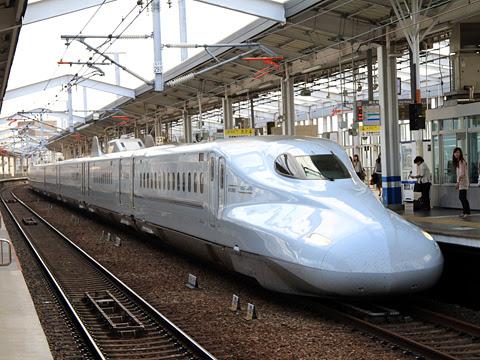 九州新幹線「さくら569号」 N700系7000番台