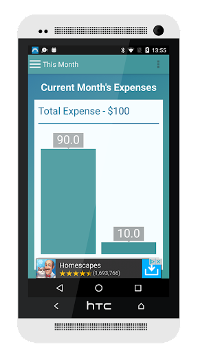 Expense Manager 1.1 screenshots 4