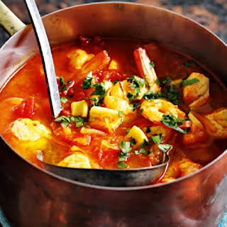 Slow Cooker Spanish Fish Soup.