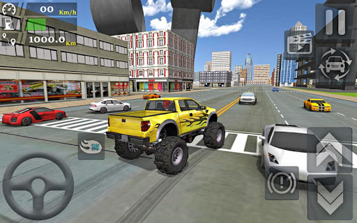 Monster Truck Stunts Driving Simulator  astuce 1