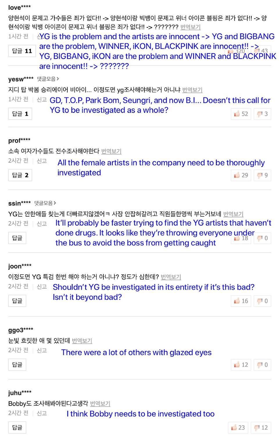ikon bi netizen yg artists