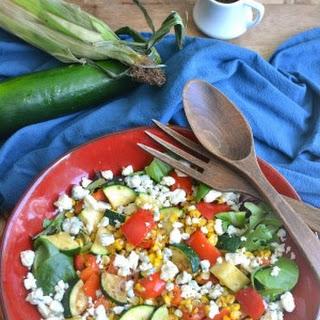 Grilled Summer Vegetable Salad Recipe