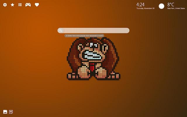 Donkey Kong Hd Wallpaper Background Theme