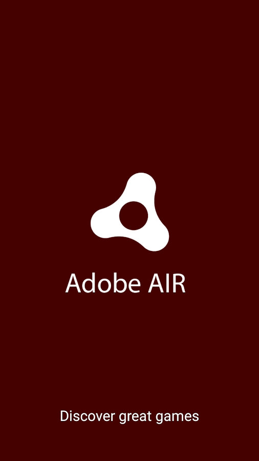 Adobe AIR – Screenshot