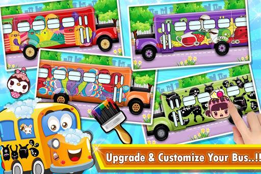Kids School Bus Spa Simulator 1.0 screenshots 3