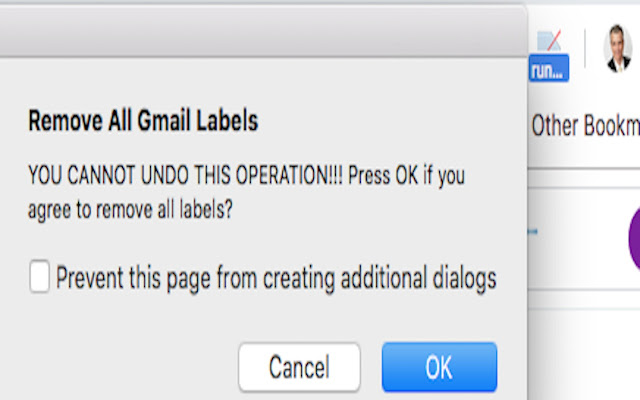Remove All Gmail Labels