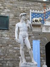 Photo: Copy pf David atPiazza della Signoria