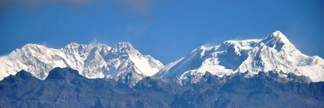 Photo: Depuis Sinchewa, Kangchenjunga et Kabru