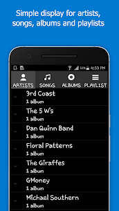 Simple Music Player – Gapless for Local Music App Download For Android 5