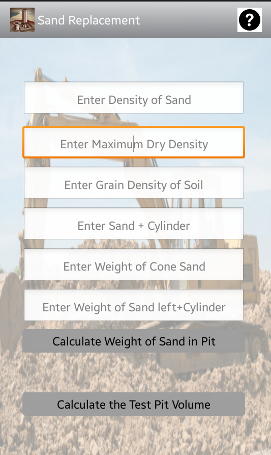Sand Replacement- screenshot