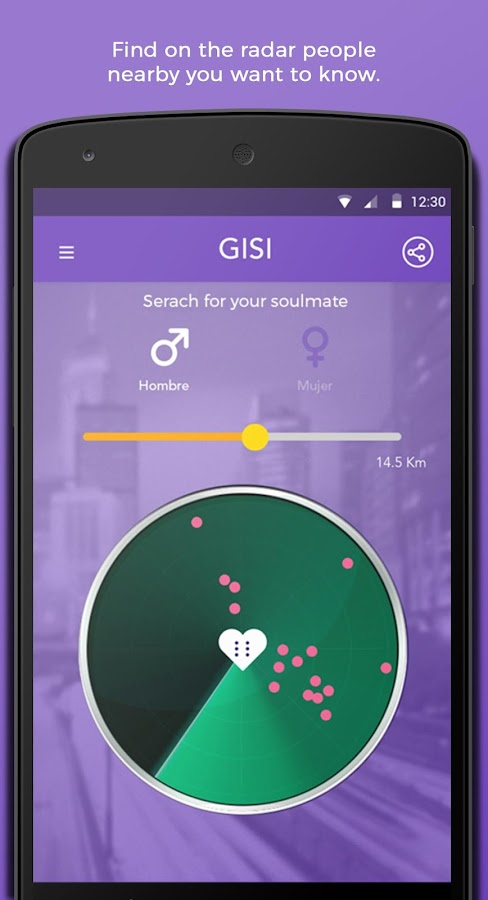 GISI - The New way of flirting- screenshot