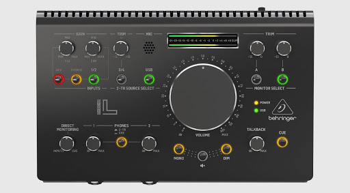 Behringer STUDIO L controller and interface: Who's got the bigger knob?