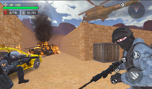 Counter Terrorist--Top Shooter 3D screenshot 17