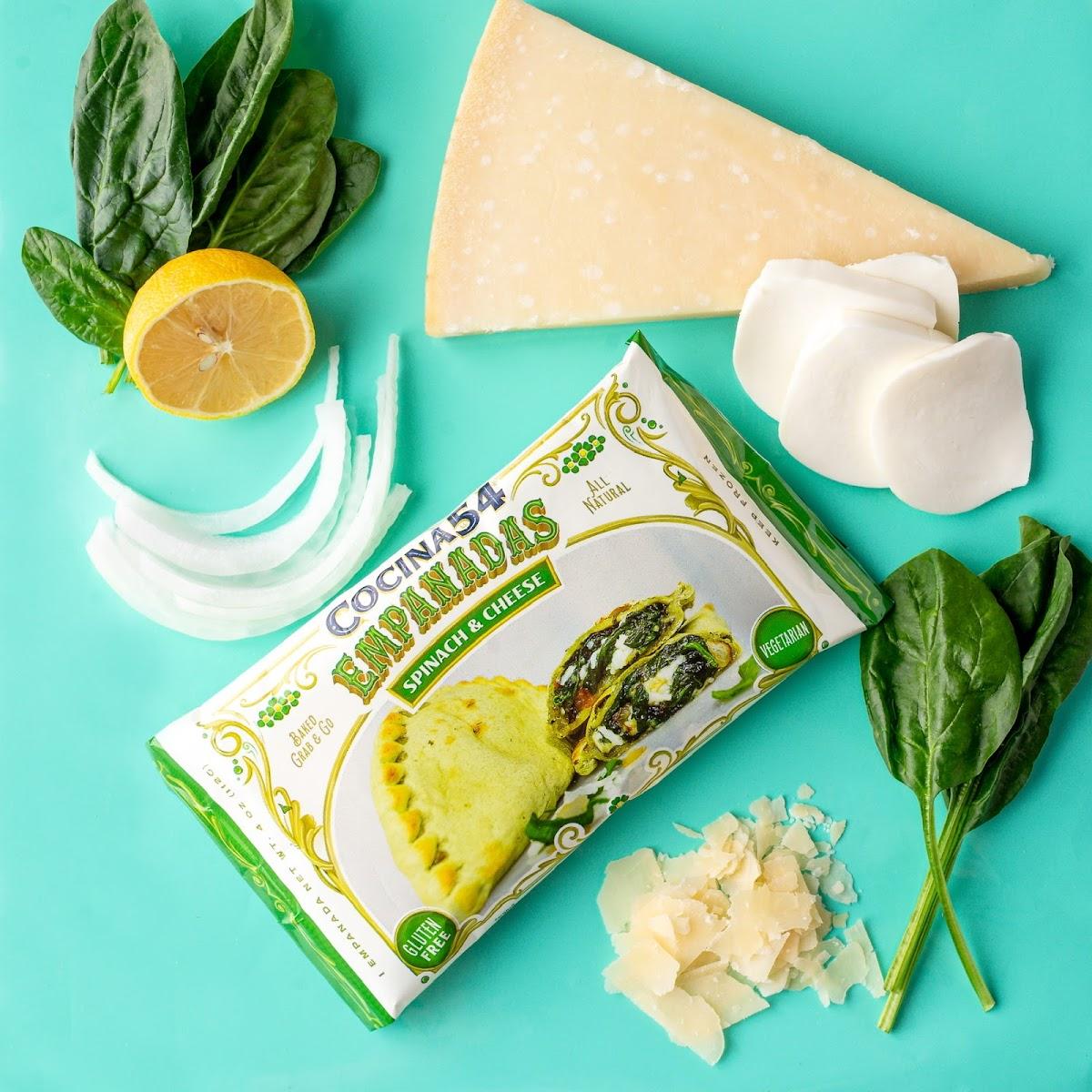 Spinach & Cheese Empanadas