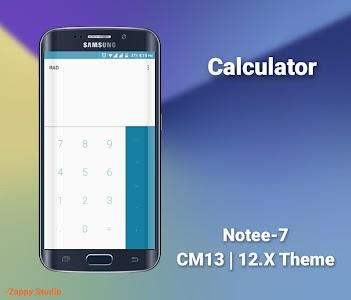 CM12/13.X Theme Galaxy 7 Style v1.0