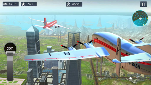 Airplane Driving Simulator 1.2 screenshots 2