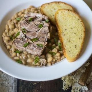 Crockpot Tuscan Pork and Beans
