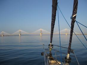 Photo: Rion Bridge at dawn